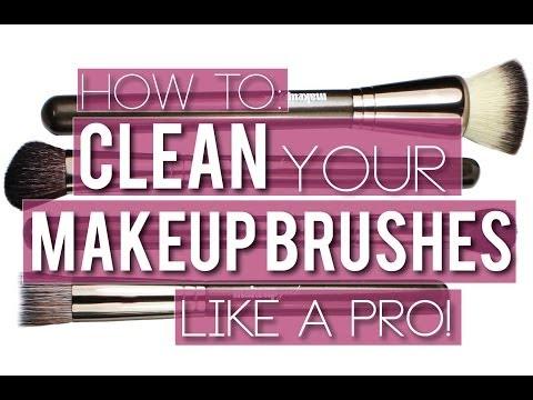 How To: Clean Your Makeup Brushes {Makeup Geek} thumbnail