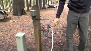HOW TO CONNECT YOUR TRAVEL TRAILER OR RV TO CAMPSITE HOOK-UPS (2 OF 2)