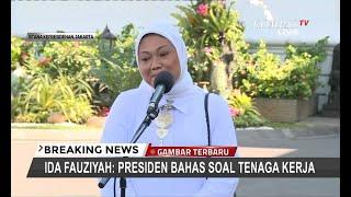 Ida Fauziyah Gantikan Hanif Dhakiri Jadi Menteri Tenaga Kerja Jokowi?
