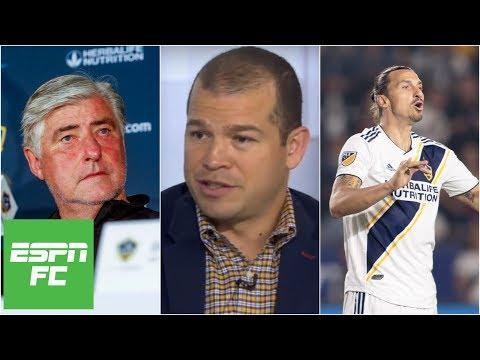 Alejandro Moreno reacts to turmoil going on at LA Galaxy | ESPN FC