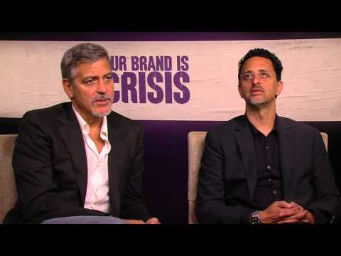 Our Brand is Crisis: Producer George Clooney & Grant Heslov  Movie