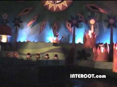 INTERCOT: It's A Small World  Magic Kingdom  Complete Attraction  2000