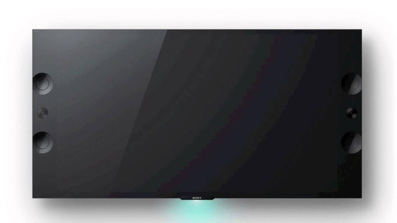 Sony 4k Magnetic Fluid Speaker Technology