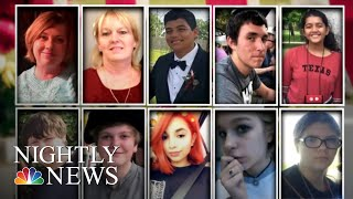 Investigators Search For Clues In Sante Fe High School Shooting | NBC Nightly News