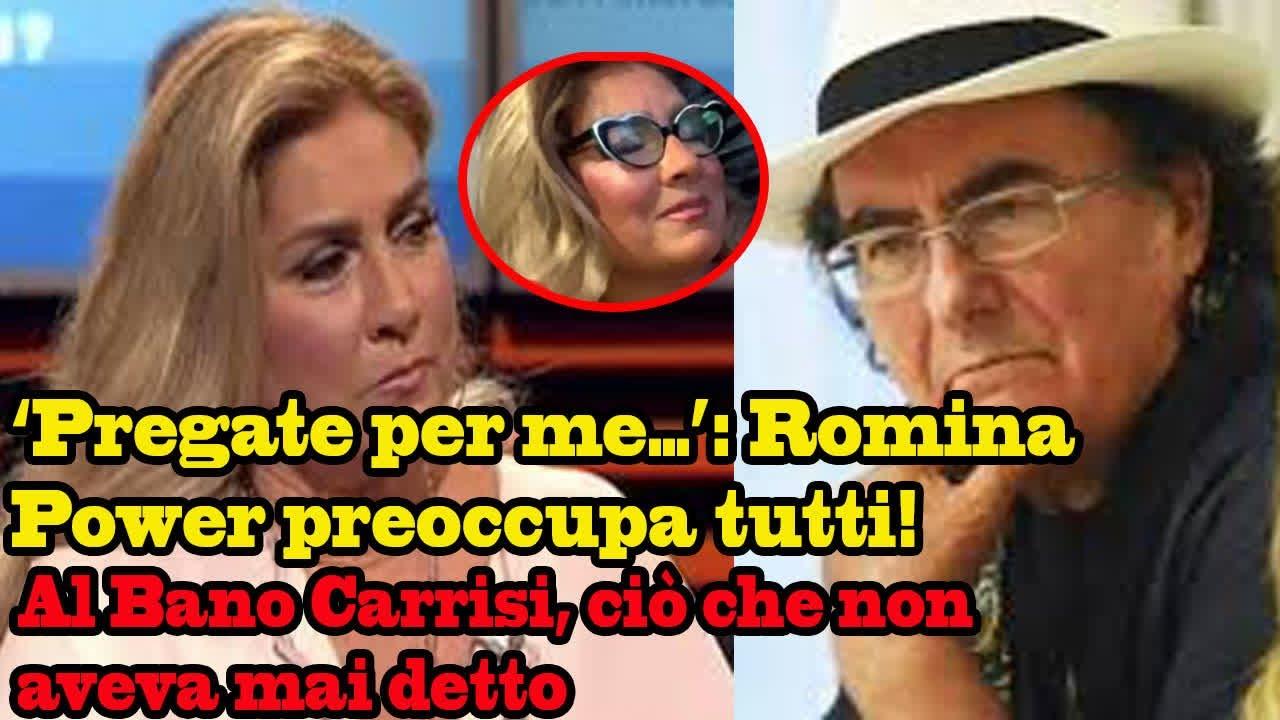 'Pregate per me…': Romina Power preoccupa tutti! Al Bano Carrisi, ciò che non aveva mai detto...
