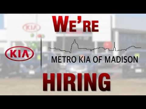 Metro Kia Of Madison, Wisconsin Is Hiring!   Careers