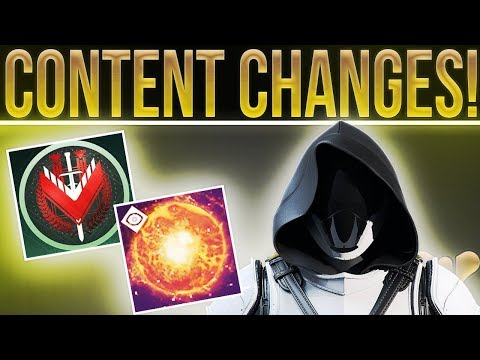 Destiny 2 News. ROADMAP CHANGES! Heroic Strike Modifiers, Weekly Crucible Playlist Dates & More!