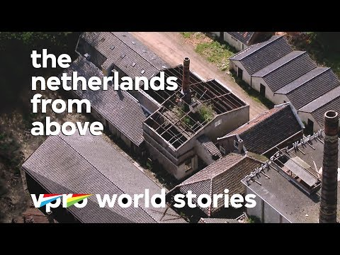 Dutch abandoned buildings and urban decay - The Netherlands from above