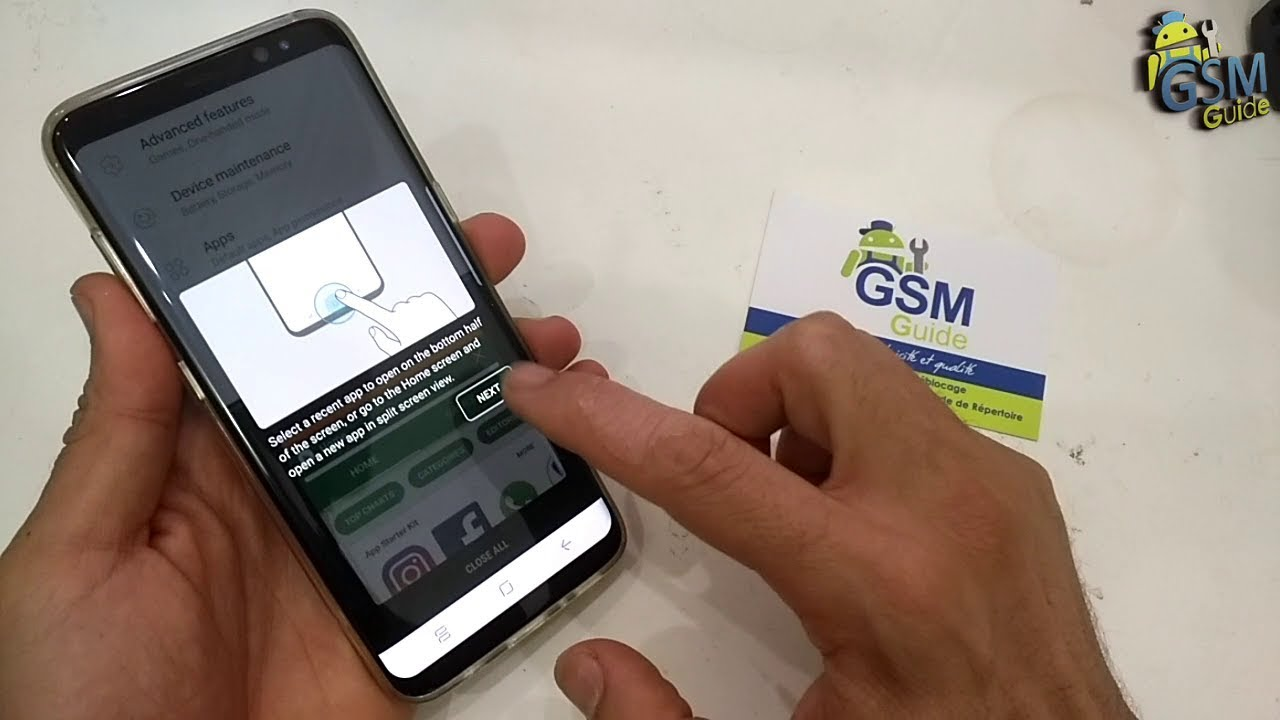 How to Enable Multi Window on Samsung Galaxy S8/S8+ | How to - GSM GUIDE
