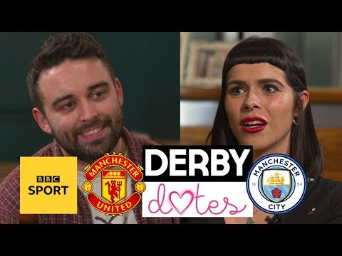 Derby Dates: Man City v Man Utd - Can love conquer football rivalries? - BBC Sport from YouTube · Duration:  5 minutes 3 seconds