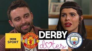 Derby Dates: Man City v Man Utd - Can love conquer football rivalries? - BBC Sport
