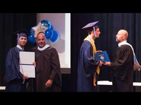The Palm Beach Maritime Academy 2018 Graduation