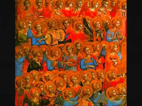 Medieval music  Angelorum gloriae, Anon 1300s