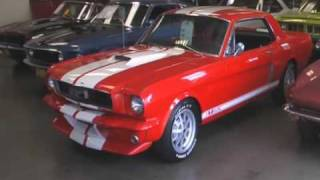 1966 Mustang GT-350 Recreation Muscle Car For Sale!