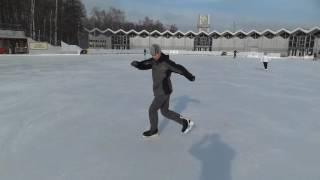 Катание на коньках 3 (Freestyle Ice Skating) Сокольники, Крылатское