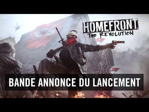 Bande annonce (Officielle) du lancement de Homefront: The Revolution [FR]
