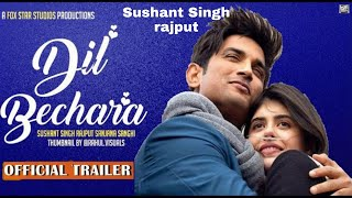 Dil Bechara Official Trailer | Sushant Singh Rajput Up Coming Movie Trailer | 2020
