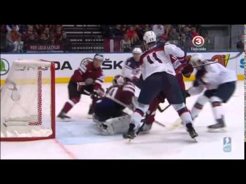 Latvija vs USA IIHF 2014 (6:5)