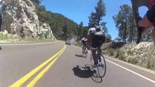 FAST Downhill Mt lemmon road bike Lemmon part 1