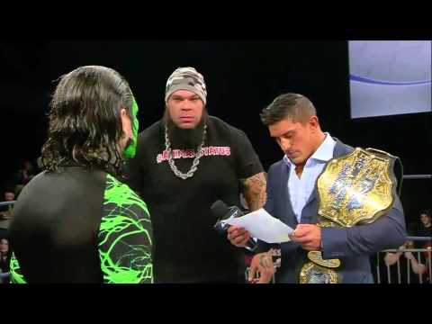 EC3 Reveals the Information in Jeff Hardy's Doctor's Note