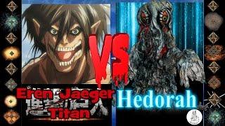 Eren Jaeger (Attack on Titan) vs Hedorah (Toho) - Ultimate Mugen Fight 2016