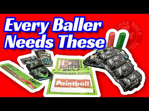 Top 5 Must Have Paintball Accessories  | Lone Wolf Paintball Michigan