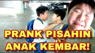 PRANK PISAHIN ANAK KEMBAR | PRANK SEPARATE THE TWINS |  Kenneth Kenzo