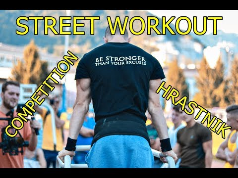 Street Workout Competition - Hrastnik, Slovenia