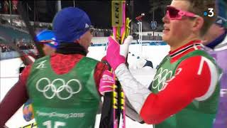 JO 2018 : médaille de bronze pour la France au ski de fond par équipe