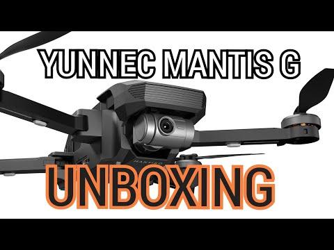 YUNEEC MANTIS G UNBOXING REVIEW ESPAÑOL #yuneecmantisg