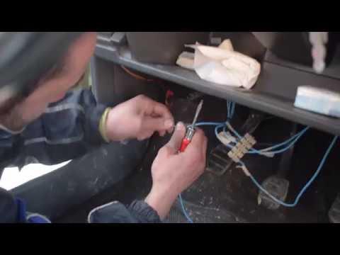 se nos tuerce la preinstalacion eléctrica del swap en mi Renault 5 five!!!