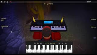 Nevereverland - N by: Nano on a ROBLOX piano.
