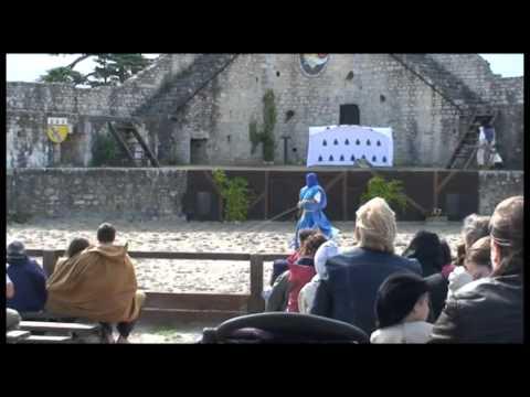 Spectacle - Les Aigles des Remparts - Vol Libre Production - Provins