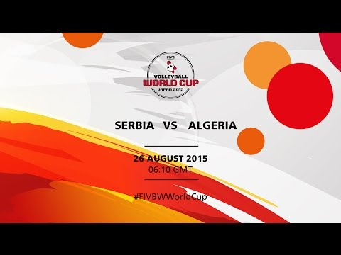 Serbia v Algeria - FIVB Volleyball Women's World Cup Japan 2015