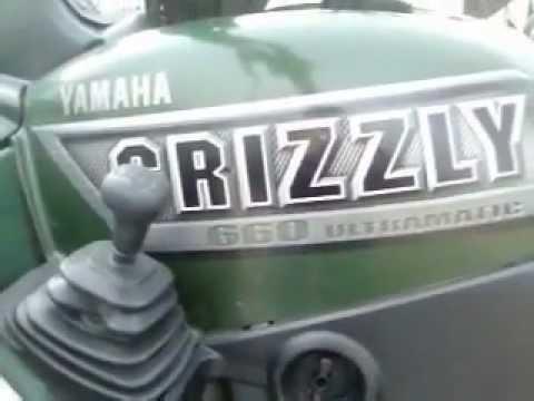 2002 Yamaha Grizzly 660 4x4