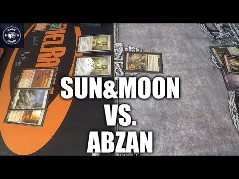 MtG - Sun & Moon vs. Abzan (Modern Gameplay) [Deutsch]