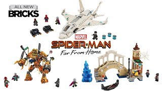 Lego Spider-Man Far From Home Compilation of All Sets