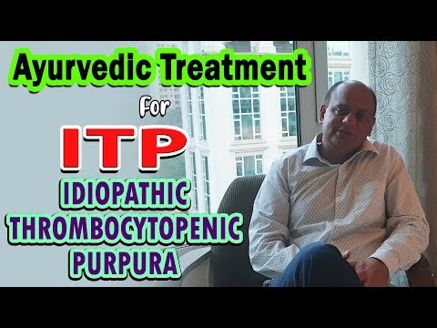 Ayurvedic Treatment For ITP - Idiopathic thrombocytopenic purpura - Interview of Dr. Vikram Chauhan