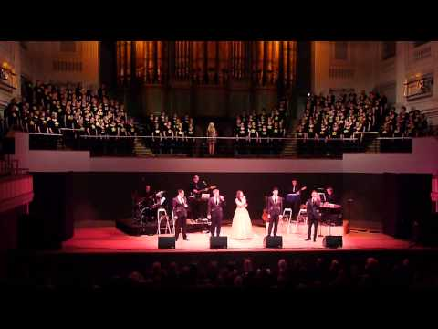 Rock Choir & G4 (with Charlotte Jaconelli) sing Barcelona at Birmingham Town Hall