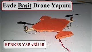 Evde 2 Pervaneli Basit Drone Yap - HERKES YAPABİLİR!