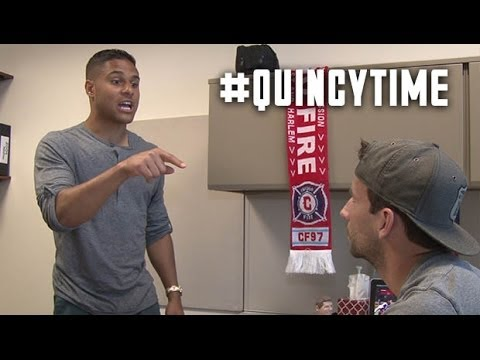 Quincy Amarikwa and Mike Magee name that tune | #QuincyTime