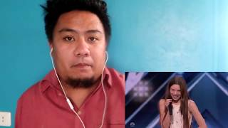 Courtney Hadwin GOLDEN BUZZER - America's Got Talent 2018 Audition | REACTION VIDEO