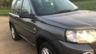 2006 LAND ROVER FREELANDER TD4 2.0 DIESEL 4X4 SUV VIDEO REVIEW: STARTING, DRIVING