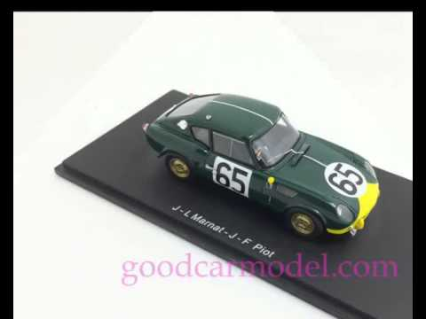 Triumph Spitfire No65 Le Mans 1964 Marnat Piot Spark S1411 Youtube
