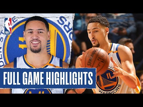 FULL GAME HIGHLIGHTS: Klay Catches Fire Early, Pours in 60 PTS in 3 Quarters!