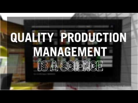 Quality Production Manager (QPM) - English
