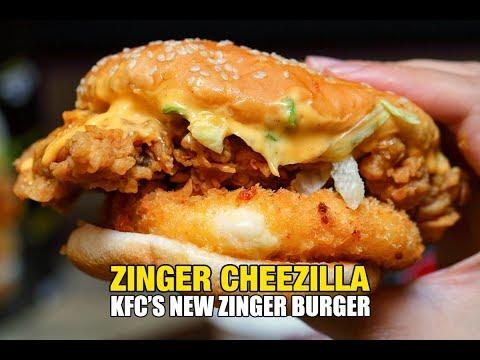 KFC Malaysia's NEW Zinger Cheezilla