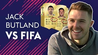 BUTLAND REACTS TO HAVING BETTER REFLEXES THAN BUFFON! | JACK BUTLAND VS FIFA 🔥🔥🔥 thumbnail