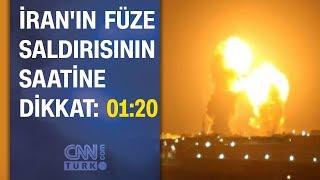 İran'ın Amerika'ya füze saldırısının saatine dikkat!