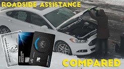 Premium Credit Card ROADSIDE ASSISTANCE Compared
